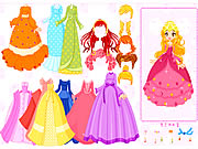 Click to Play Mylene Gown Dressup