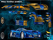Click to Play Blue Demon Car