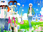 Click to Play Spring Doll Dress Up