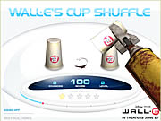 Click to Play Wall-E's Cup Shuffle