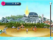 Click to Play Beach Skills Soccer