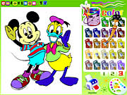 Click to Play Disney Coloring Book