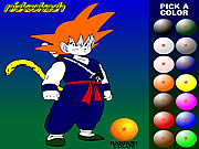 Click to Play Dragon Ball Z Painting