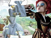 Click to Play Alice in Wonderland Puzzle - Tim Burton - 1