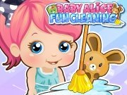 Click to Play Baby Alice Party Clean Up