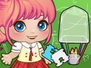 Click to Play Baby Alice Science Project