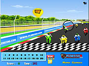 Click to Play Bike Finish Line Hidden Numbers