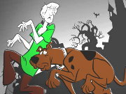 Click to Play Scooby Doo Coloring Game