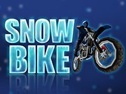 Click to Play Snow Bike