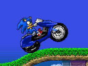 Click to Play Sonic Motorbike